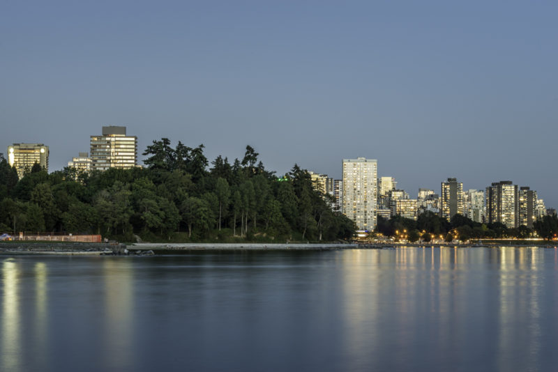 Stanley Park, Second Beach and Vancouver Downtown