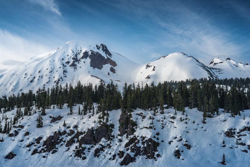 Mount Price Volcano in Garibaldi Provincial Park, BC, Canada