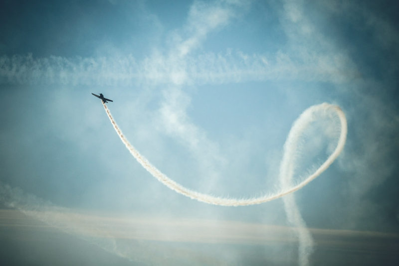 Picture of an Air Show in Vancouver, BC