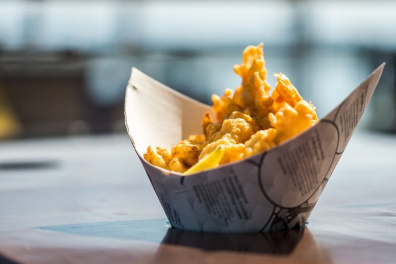 Fish & Chips from Pajo's in Steveston, BC, Canada