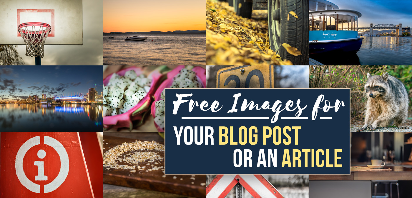 Free Images for Your Blog Post or an Article