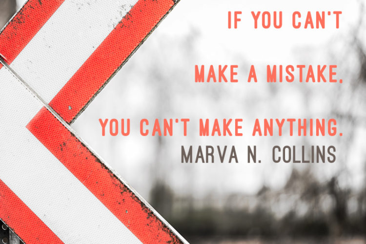 Quote on Making Mistakes