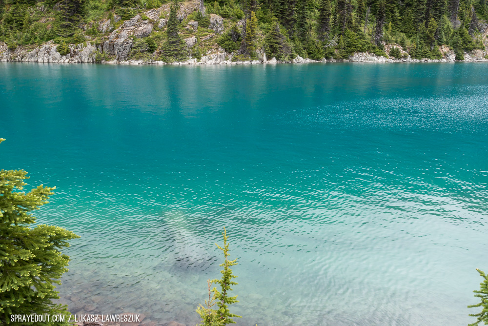 Garibaldi Lake and it's beautiful color