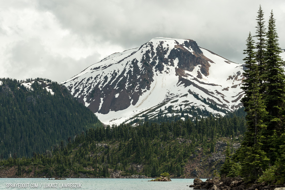 Garibaldi Lake & Surrounding Mountain