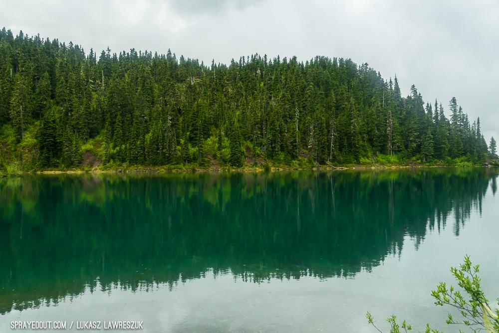 Mystic Weather on Garibaldi Lake Hike, BC, Canada