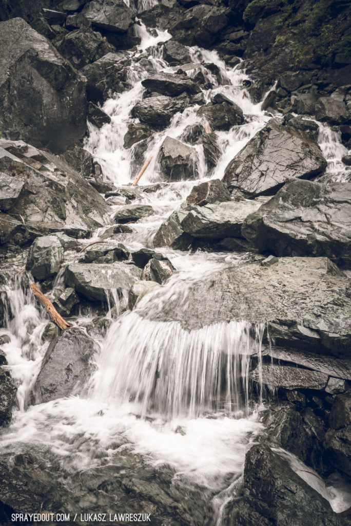 Garibaldi Lake Hike Small Waterfall