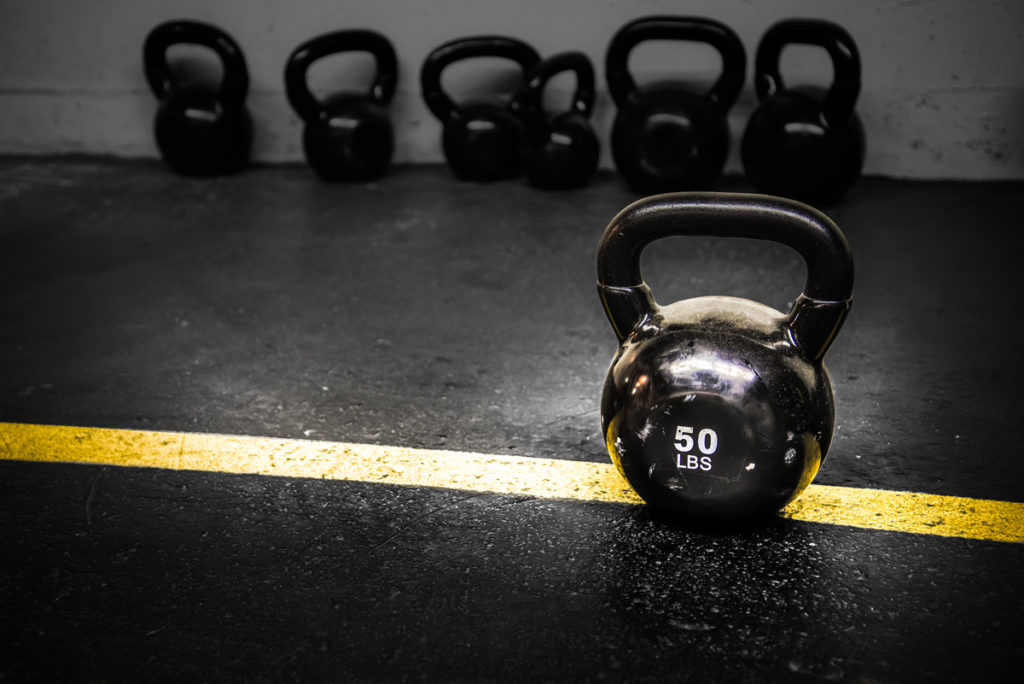 50 Lbs Kettlebell Weight