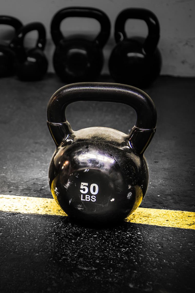 50 Lbs Kettlebell Weight