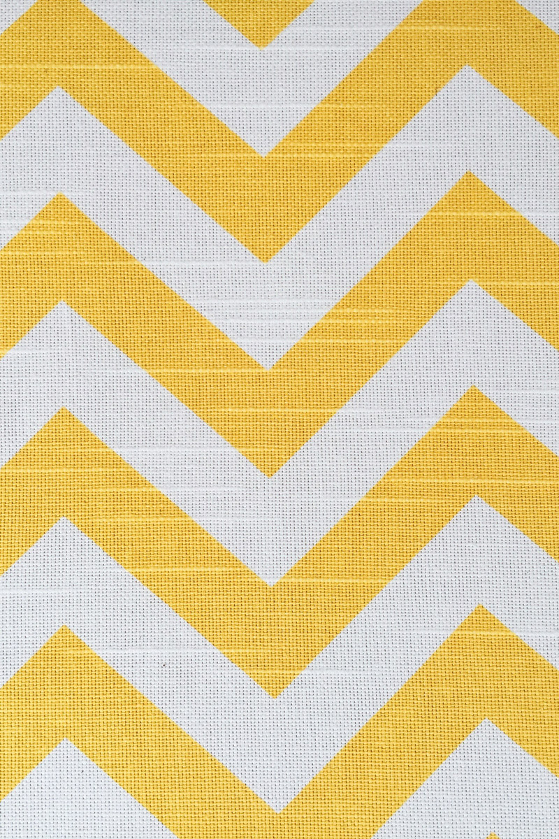 Yellow White Pattern