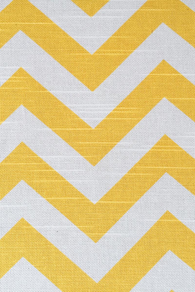 Yellow White Pattern