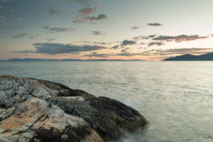 Sunset in West Vancouver's Lighthouse Park