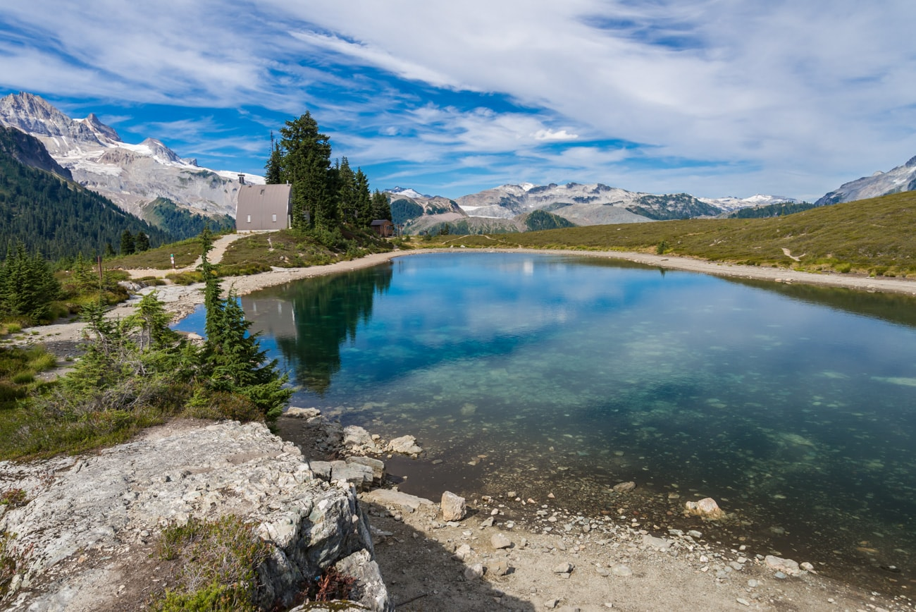 Beautiful Water in Elfin Lakes