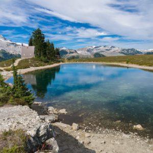Elfin Lakes in Garibaldi Provincial Park in Squamish, Canada