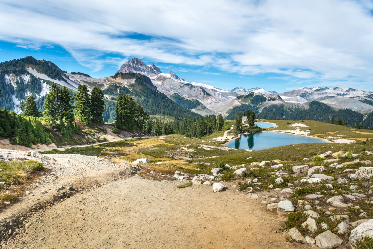 Elfin Lakes & Mountain Road