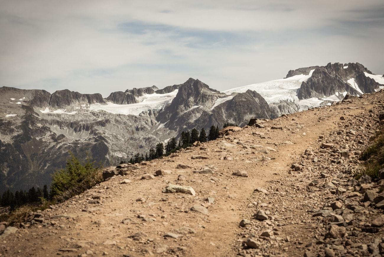 Mountain Road to Elfin Lakes in Garibaldi Provincial Park.