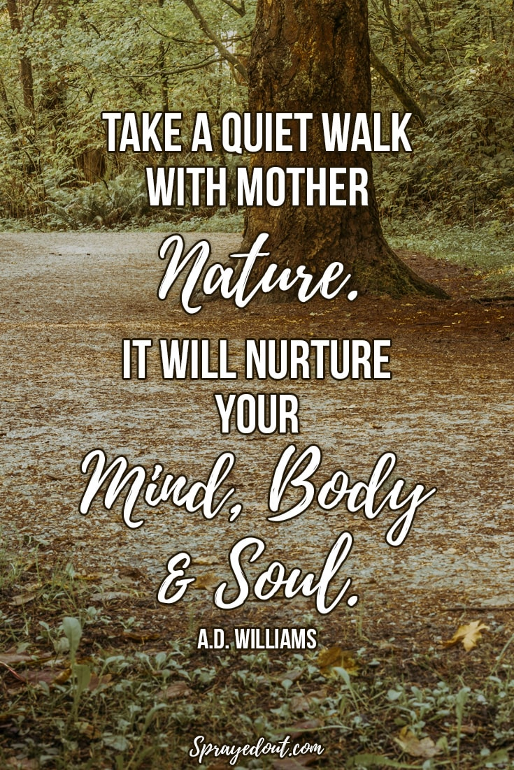 beautiful spiritual quotes about mother nature peace life