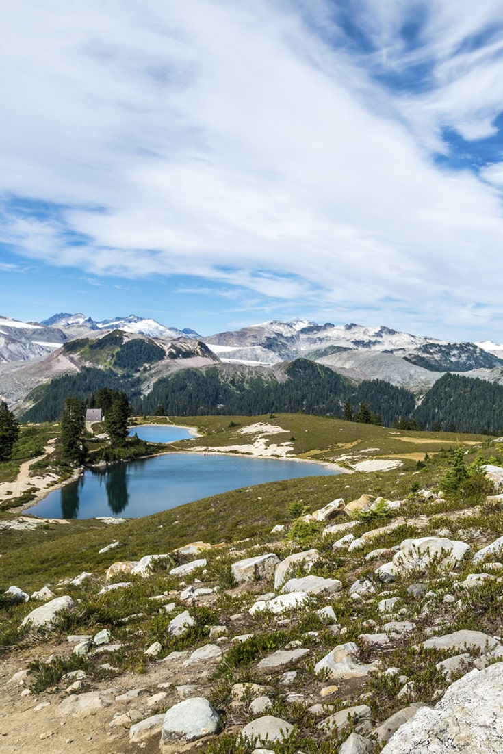 Elfin Lakes & Garibaldi Provincial Park Mountains. Free Picture for Your Blog.