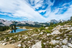 Elfin Lakes & Garibaldi Provincial Park Mountains. Free Image for Your Blog.