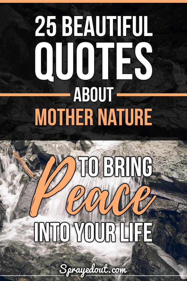 Beautiful Quotes About Mother Nature, Peace & Life