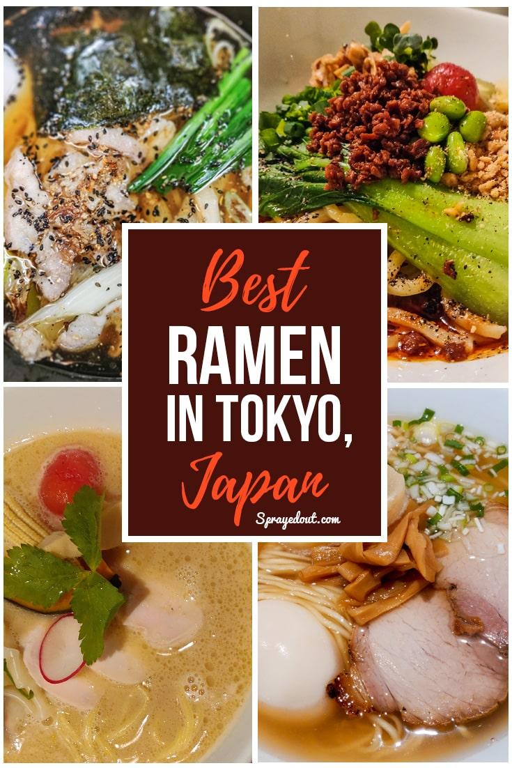 Best Ramen Noodles Restaurants in Tokyo, Japan