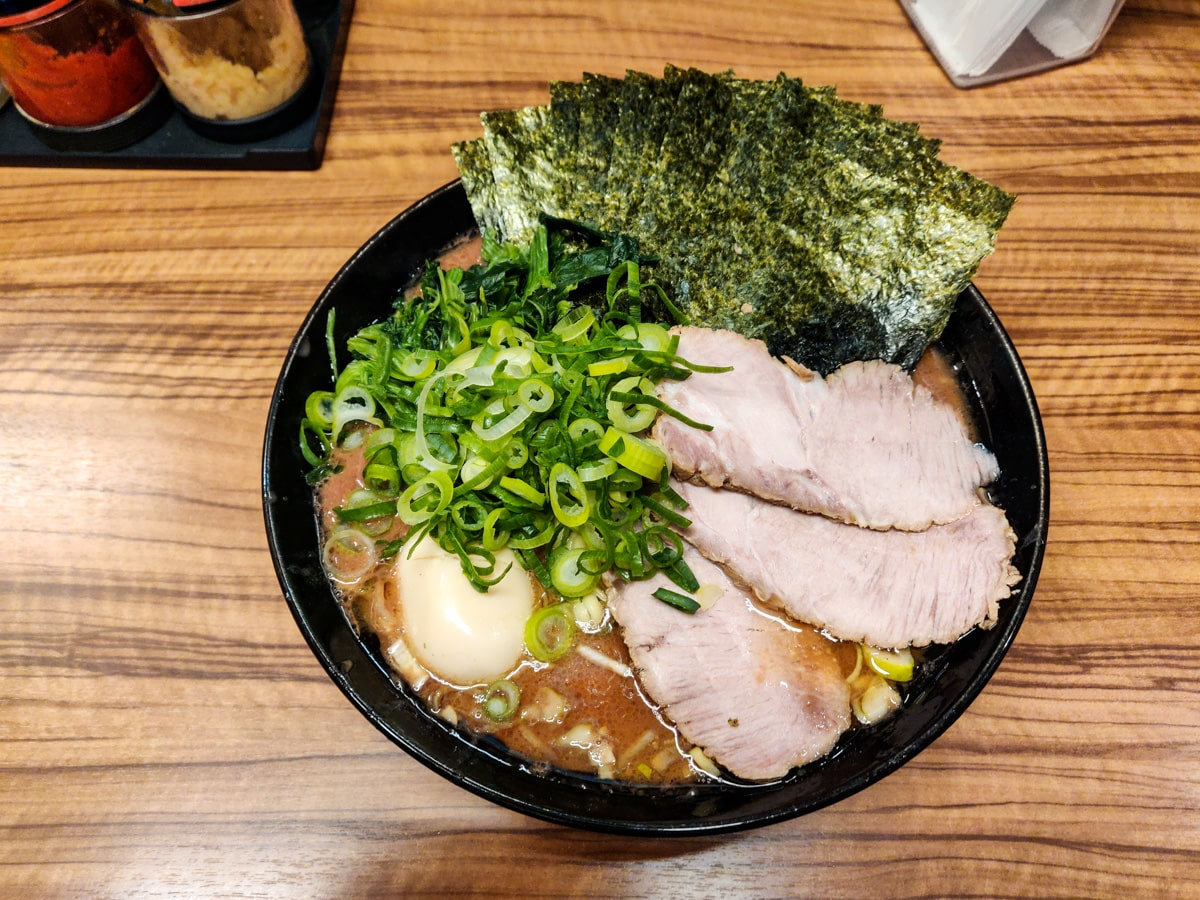 Nakano Tonkotsu Ramen in Tokyo
