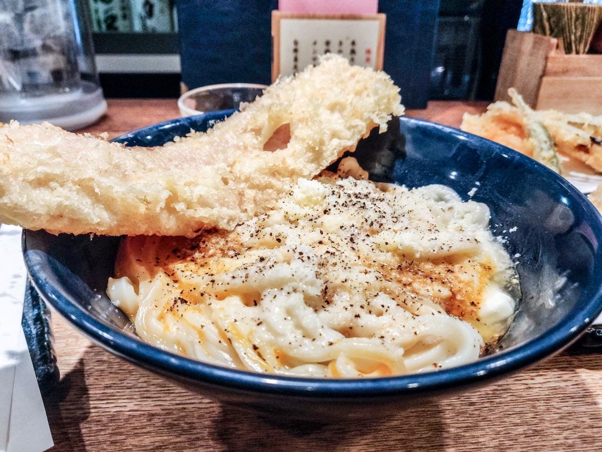 Udon Shin Noodles in Shinjuku