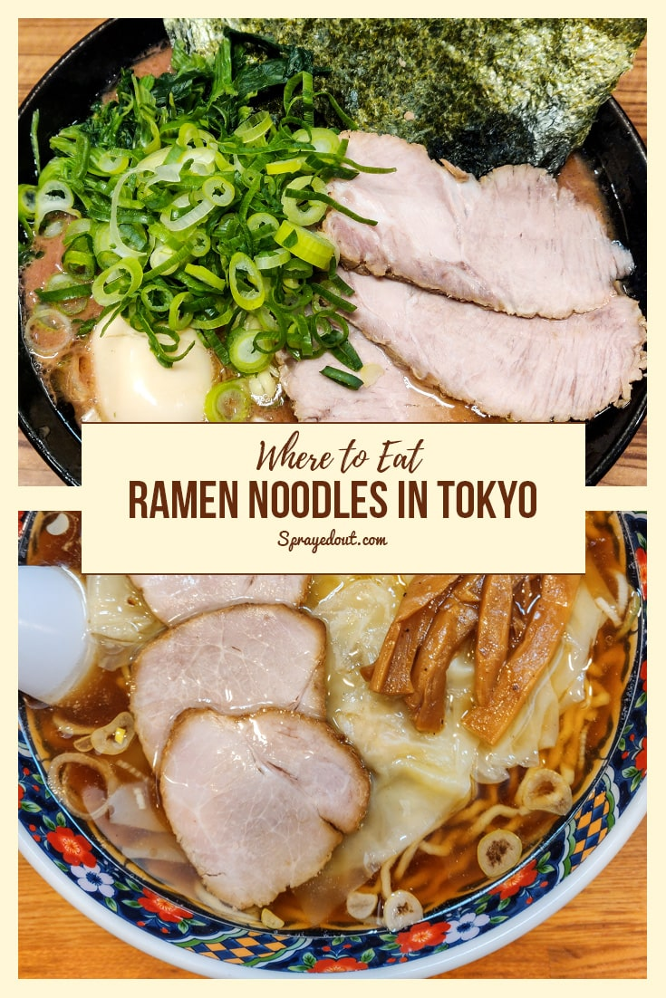 Where to Eat Ramen Noodles in Tokyo, Japan