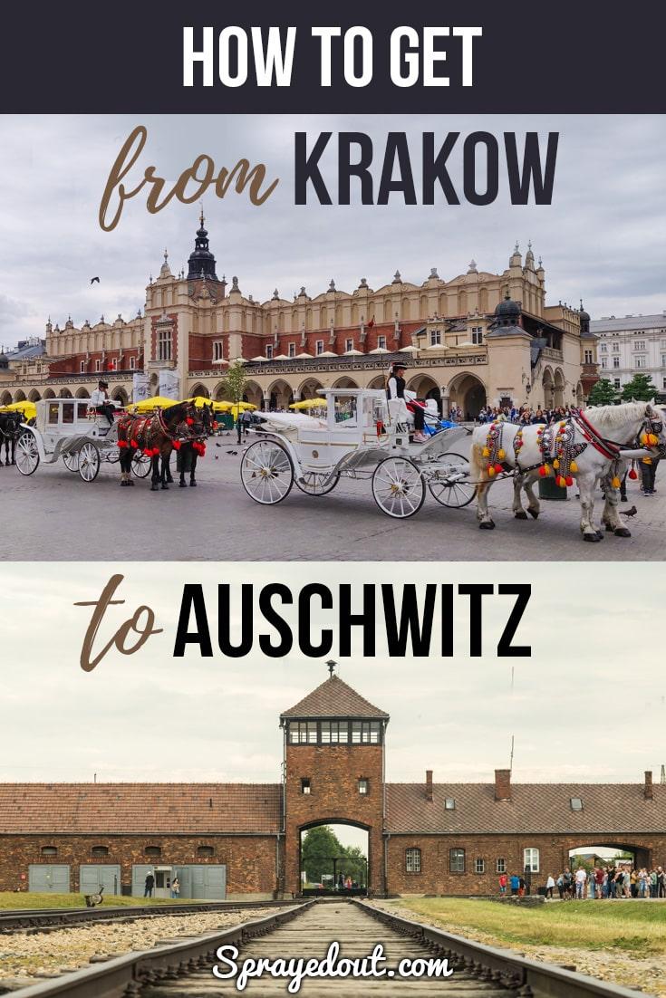 How to Get from Krakow to Auschwitz Birkenau (Oswiecim)