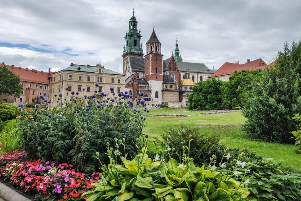 Royal Castle in Krakow, Poland. Free Picture for Your Blog.