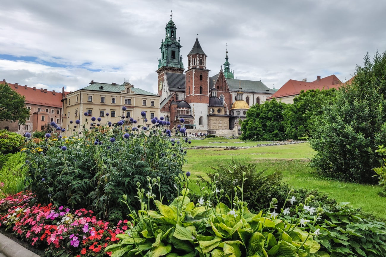 Wawel Royal Castle in Krakow, Poland. Free Picture for Your Blog.