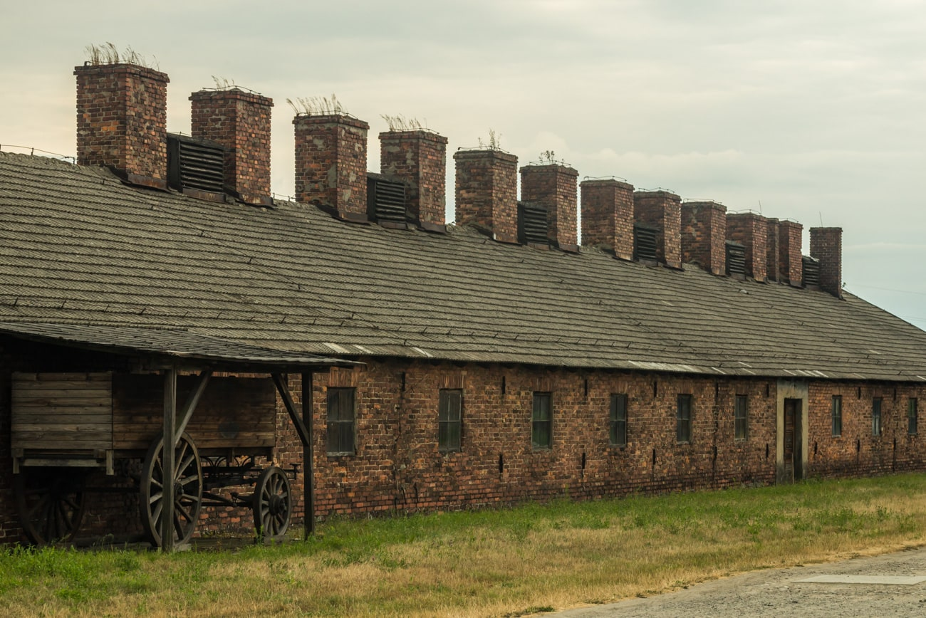 Birkenau Barracks Outside View