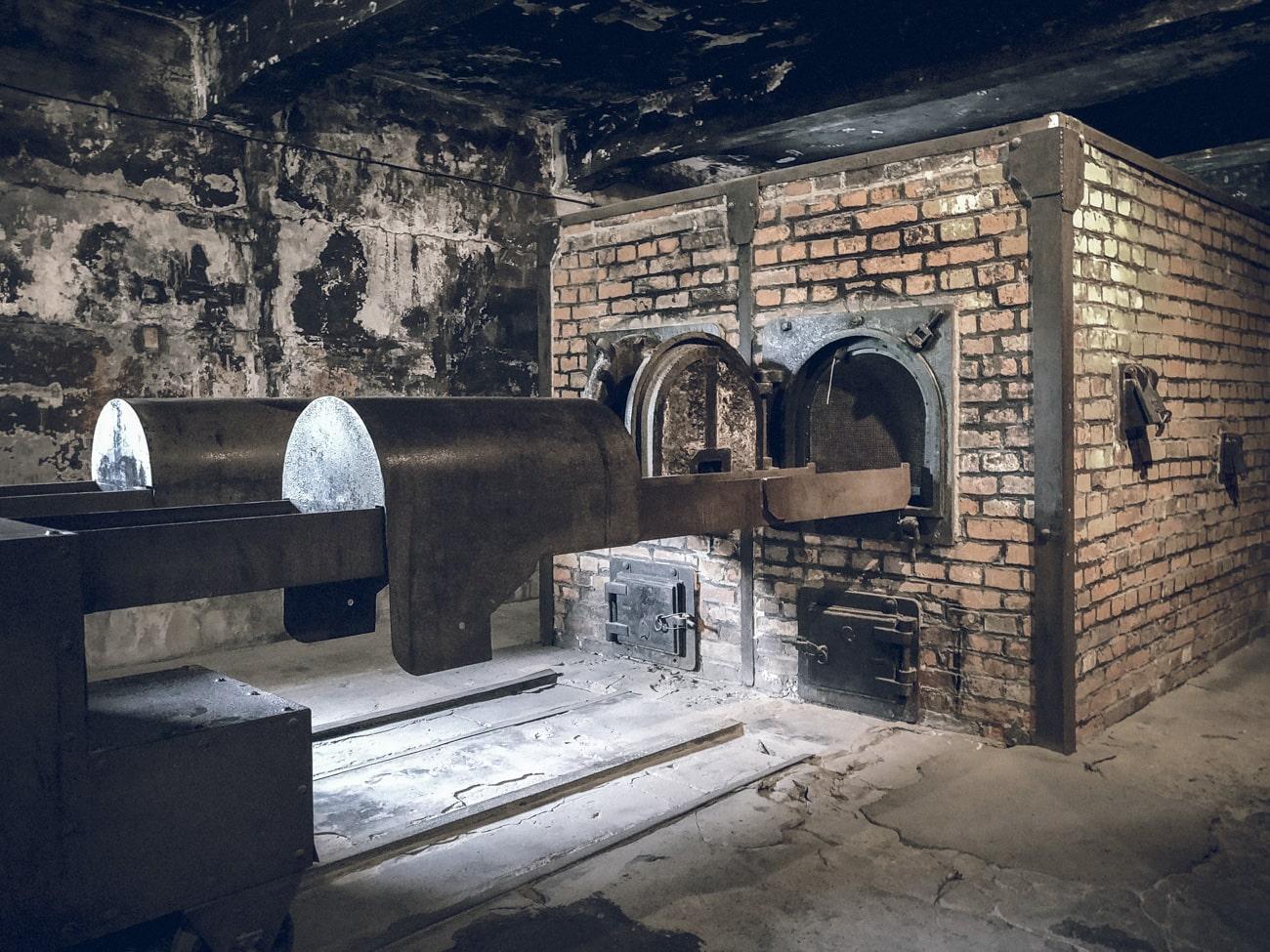 Crematorium at Auschwitz I