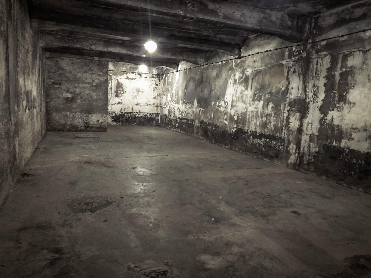 Gas Chamber in Auschwitz I, Main Camp