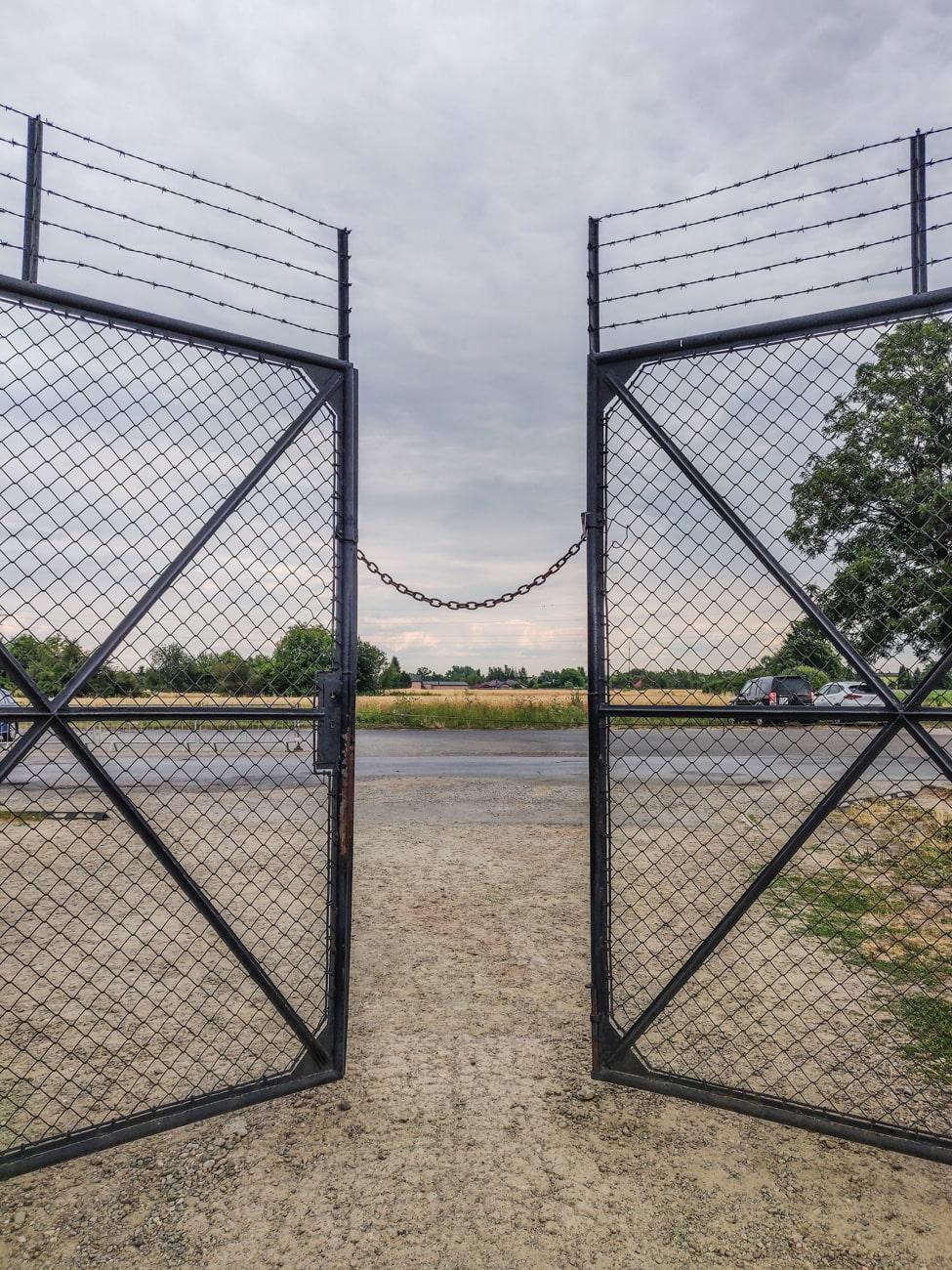 Exit Gate in Birkenau