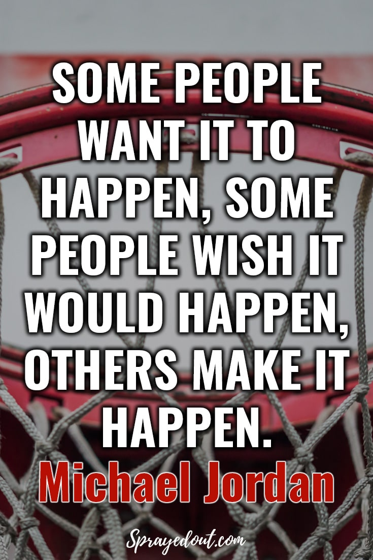 Motivational Quote by Michael Jordan.
