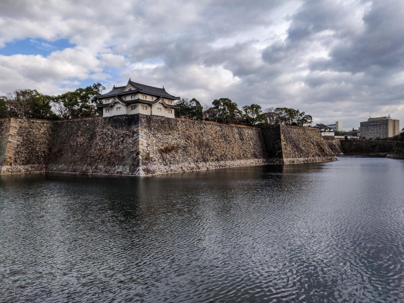 Osaka Castle Water Moat