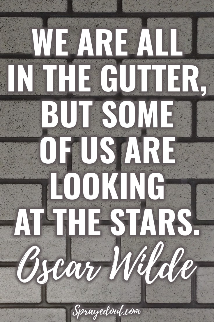 Short Quote by Oscar Wilde about keep dreaming.