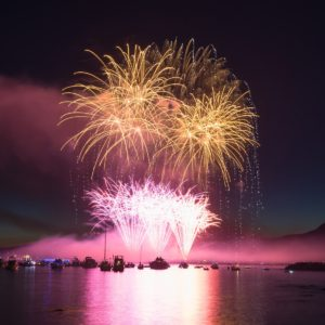 Summer Fireworks Festival in Vancouver, Canada