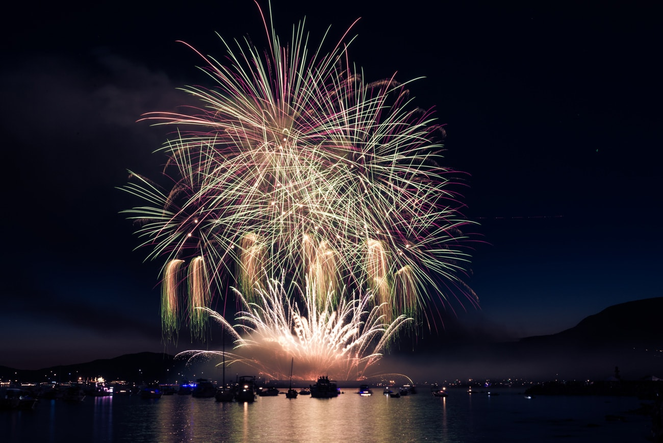 Fireworks in Vancouver, BC by Team Japan : Honda Celebration of Light