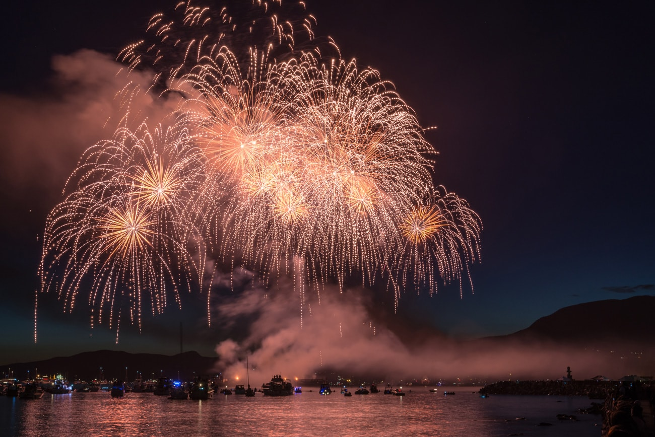 Beautiful Performance by Japan During Honda Celebration of Light in Vancouver, Canada