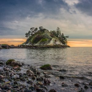 Whyte Islet in Whytecliff Park, West Vancouver