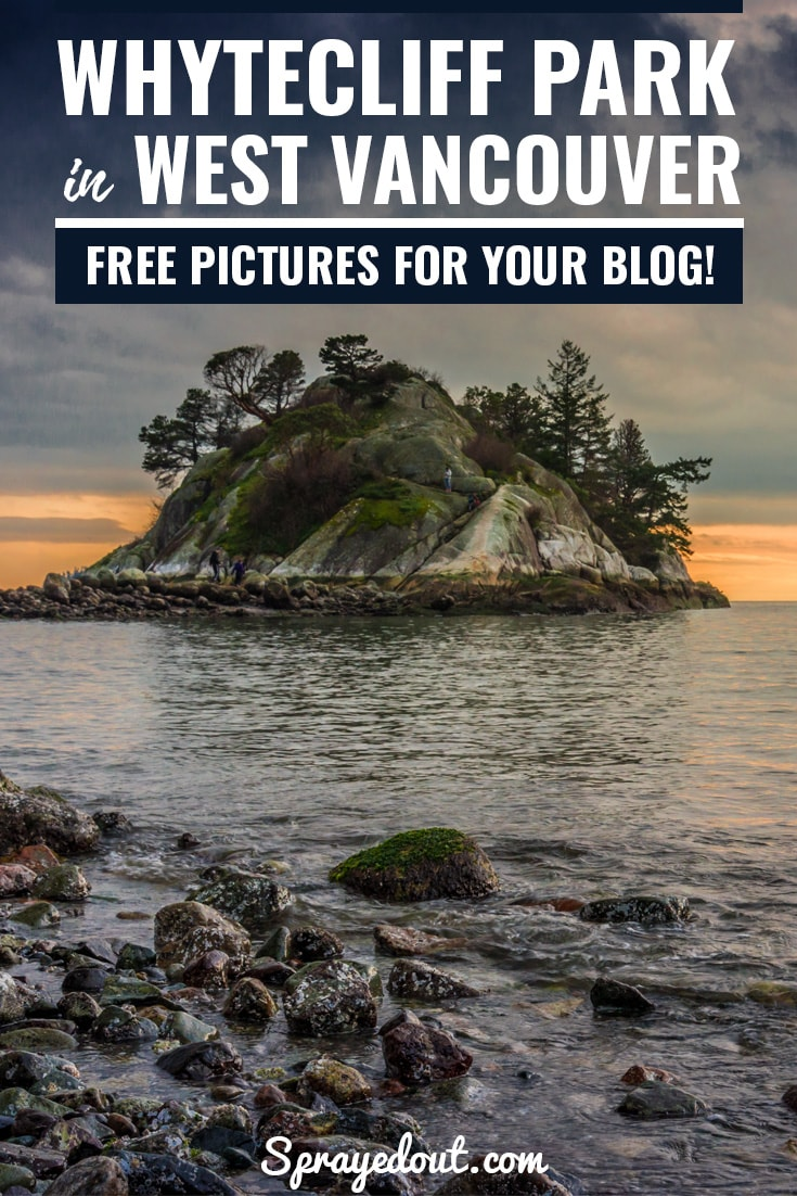 Whytecliff Park in West Vancouver, Canada. Free Landscape Pictures for Your Blog