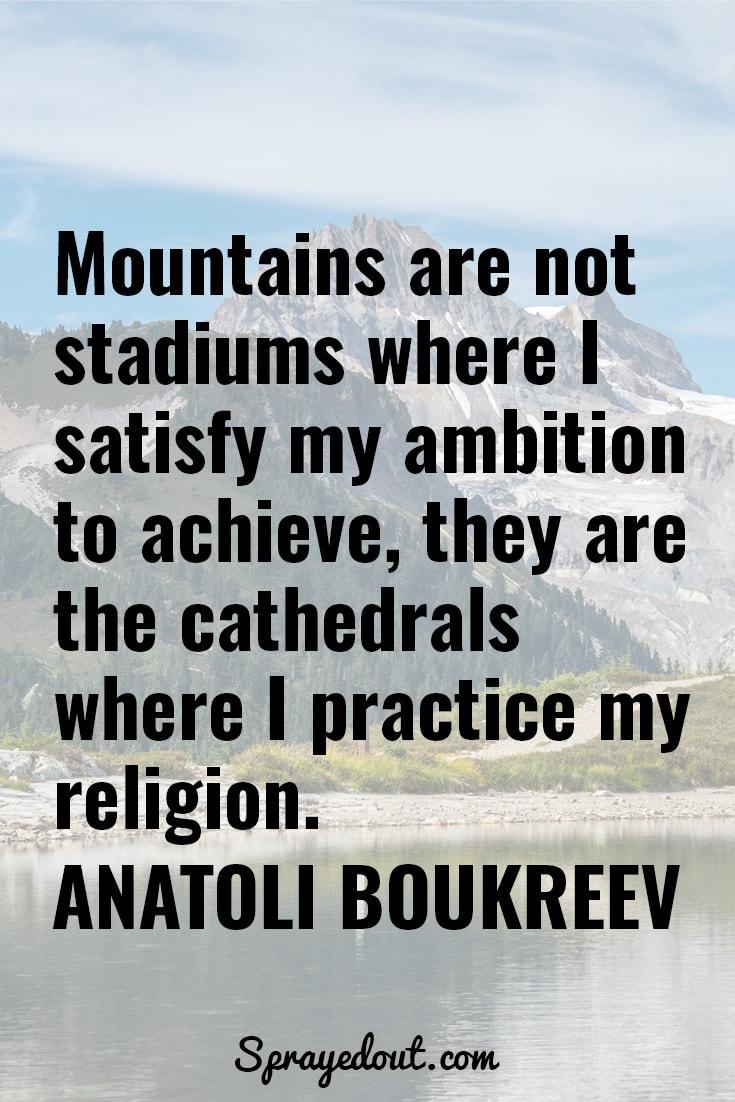 Anatoli Boukreev Quote