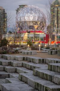 Telus World of Science in Vancouver, BC, Canada.